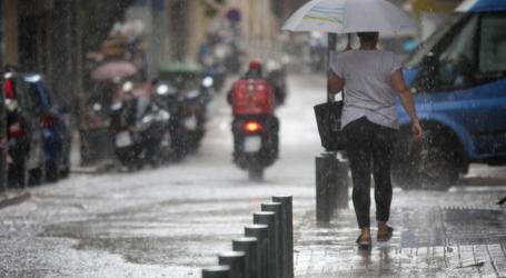 Φθινοπωρινό σκηνικό με βροχές και πτώση της θερμοκρασίας