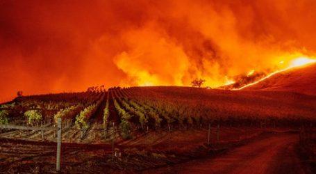 Καλιφόρνια: Πυρκαγιά κατακαίει αμπελώνες, οι αρχές καλούν εκατοντάδες κατοίκους να απομακρυνθούν