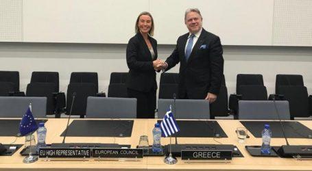Oι εξελίξεις στα Δυτικά Βαλκάνια στο επίκεντρο της συνάντησης Κατρούγκαλου – Μογκερίνι
