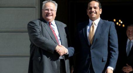 Αμοιβαία βούληση ενίσχυσης της συνεργασίας Ελλάδας – Κατάρ