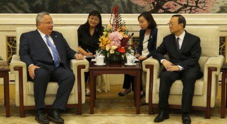 Συνεχίζει τις σημαντικές επαφές στην Κίνα ο Νίκος Κοτζιάς