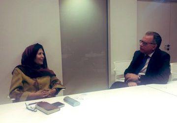 Συναντήσεις Κουμουτσάκου με υπουργούς του Ιράκ και του Αφγανιστάν
