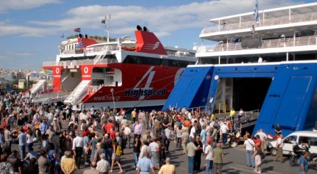 Αυξημένη κίνηση στα λιμάνια λόγω εορτών