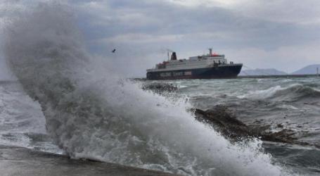 Απαγορευτικό σε λιμάνια, λόγω των θυελλωδών ανέμων
