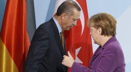 Συνομιλία Μέρκελ- Ερντογάν για τη Συρία