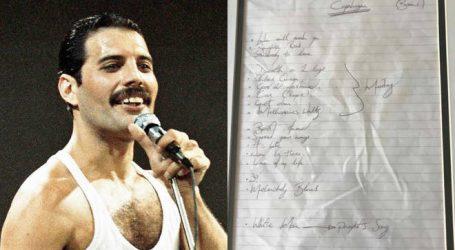 Χειρόγραφη setlist των Queen από τον Φρέντι Μέρκιουρι πωλείται σε δημοπρασία
