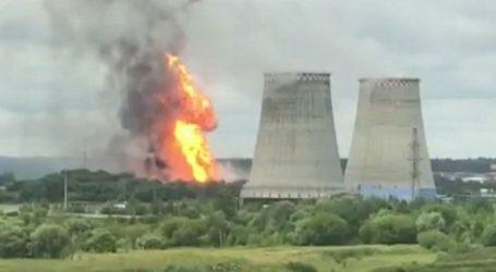 Μόσχα: Πυρκαγιά έχει ξεσπάσει σε θερμοηλεκτρικό σταθμό (vid)