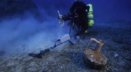 Υποβρύχια αρχαιολογική έρευνα στη θαλάσσια περιοχή της νότιας Νάξου