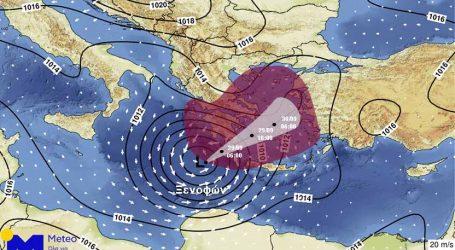 """Συναγερμός στον κρατικό μηχανισμό για τον """"Ζορμπά"""": Έντονα προβλήματα σε Κορινθία και Αργολίδα"""
