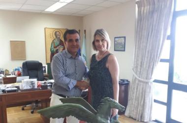 Ν.Ε.Ο.: Επαφές Παπακώστα με δήμαρχο και φορείς της Κορίνθου