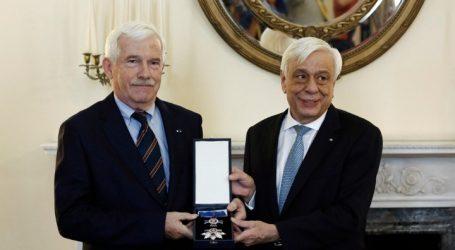 Ο Παυλόπουλος απένειμε στον Λασκαρίδη τον Ανώτερο Ταξιάρχη του Τάγματος της Τιμής