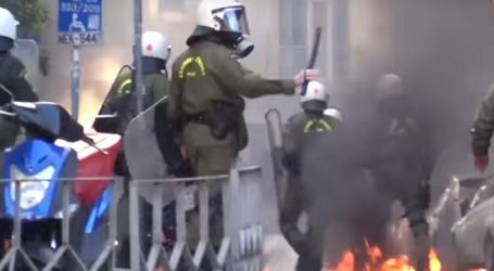 Θεσσαλονίκη: Ένταση και μικροεπεισόδια στη διαμαρτυρία για τη συμφωνία των Πρεσπών