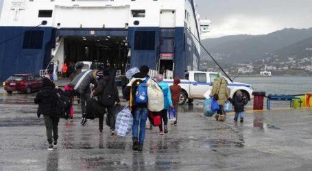Τουλάχιστον 197 πρόσφυγες και μετανάστες στο λιμάνι του Πειραιά με το «Νήσος Σάμος»
