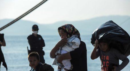 πρόσφυγες στη Λεσβο