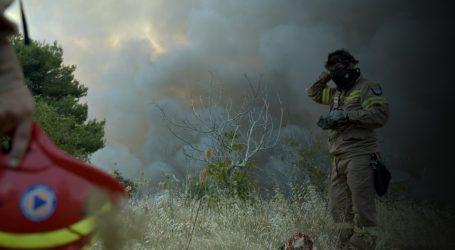 Χαλκιδική: Υπό μερικό έλεγχο πυρκαγιά σε δασική έκταση στην Αγ. Παρασκευή