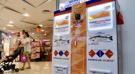 Σιγκαπούρη: Το πρώτο ATM σολομού στον κόσμο
