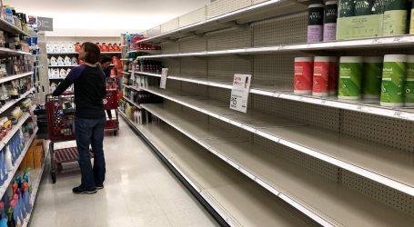 Άδειασαν τα σούπερ μάρκετ του Λος Άντζελες λόγω κορωνοϊού