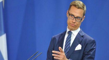 Ο Αλεξάντερ Στουμπ ανακοίνωσε την υποψηφιότητά του για τη θέση του Προέδρου της Κομισιόν