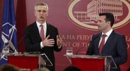Στόλτενμπεργκ προς Ζάεφ: Ένταξη στο ΝΑΤΟ μόνο όταν επικυρωθεί η συμφωνία των Πρεσπών