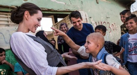 Η Αντζελίνα Τζολί επισκέφθηκε τη Μοσούλη στο βόρειο Ιράκ