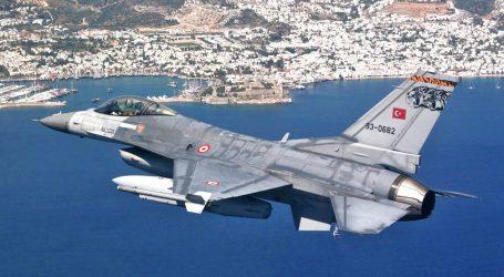 Υπερπτήση τουρκικού αεροσκάφους πάνω από τη Ζουράφα