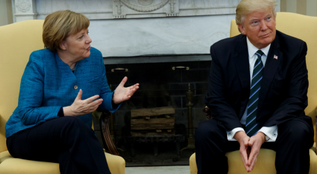 """Τραμπ – Μέρκελ: """"Έχουμε μια πραγματικά θαυμάσια σχέση από την αρχή αλλά κάποιοι δεν το κατάλαβαν"""""""
