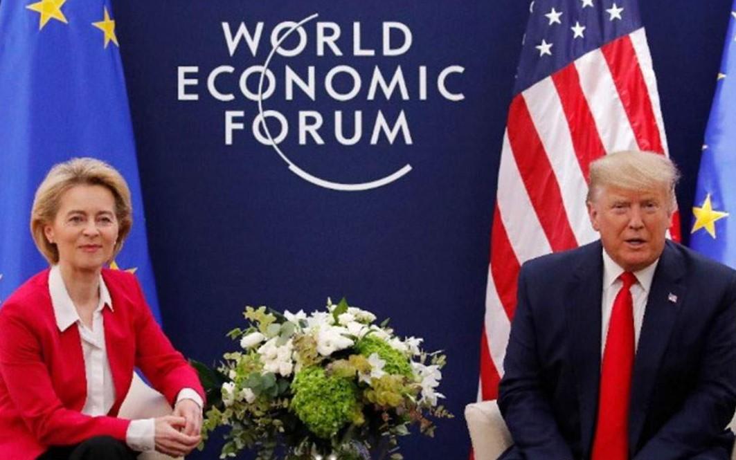Τραμπ: Θα συζητήσουμε με την ΕΕ μια εμπορική συμφωνία
