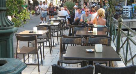 Οριοθετούνται οι χώροι τοποθέτησης τραπεζοκαθισμάτων των καφετεριών της Αθήνας