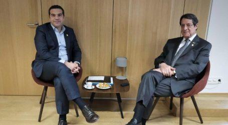 Τσίπρας: Η προπαρασκευή στον τομέα της ασφάλειας, «κλειδί» για την επανέναρξη του διαλόγου στο Κυπριακό