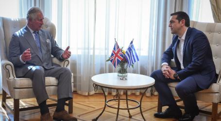 Τσίπρας: Ορόσημο η επίσκεψη του πρίγκιπα της Ουαλίας για τις σχέσεις Ελλάδας-Βρετανίας