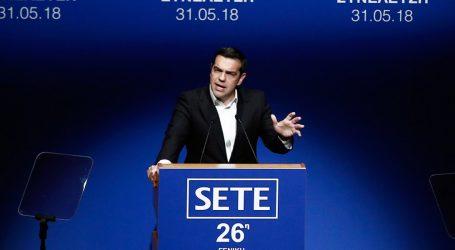 Τσίπρας στο ΣΕΤΕ: Προανήγγειλε μείωση φόρων εφόσον διατηρούνται πλεονάσματα