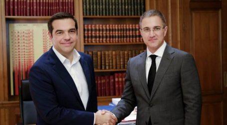 Συνάντηση Τσίπρα με τον αναπληρωτή πρωθυπουργό της Σερβίας