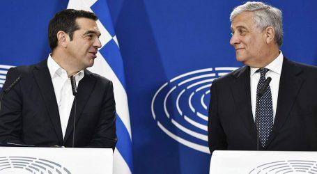 Ταγιάνι – Τσίπρας: «Να αλλάξουμε την Ευρώπη του φόβου, σε Ευρώπη της ελπίδας»