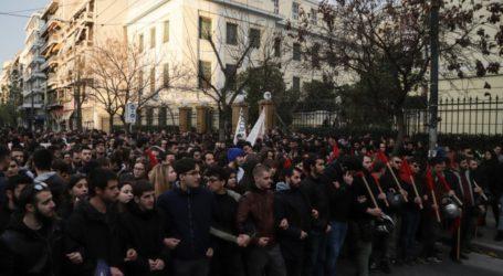 «Έξω τα ΜΑΤ από τις σχολές»: Πορεία φοιτητών προς τη ΓΑΔΑ