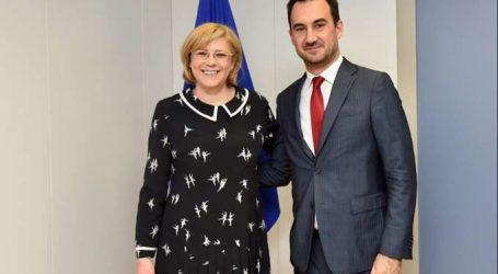 Χαρίτσης: Νέες ενισχύσεις από την ΕΕ για τους πυρόπληκτους