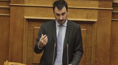 Χαρίτσης: Με την πρόταση μομφής ο Κ. Μητσοτάκης προσφέρει άθελά του μια πολύτιμη υπηρεσία στη χώρα