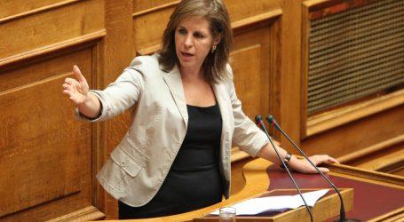 Χριστοφιλοπούλου: Το Υπουργείο Προστασίας του Πολίτη παρακολουθεί ως απλός θεατής