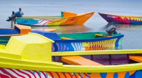 Έβαψαν σκουριασμένες ψαρόβαρκες για τη διατήρηση της θαλάσσιας βιοποικιλότητας