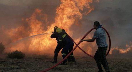 Σε εξέλιξη και σήμερα οι πυρκαγιές στην Αττική