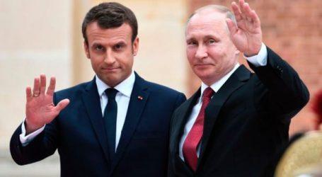 Συνάντηση Μακρόν-Πούτιν στη Γαλλία την Δευτέρα