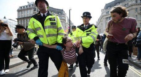 Βρετανία: Σύλληψη 276 διαδηλωτών που συμμετείχαν στις κινητοποιήσεις της Extinction Rebellion για το κλίμα
