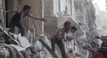 Συρία   Χωρίς τέλος το λουτρό αίματος – Ακόμη 7 άμαχοι νεκροί σε αεροπορικό βομβαρδισμό