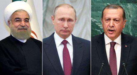 3μερής των ηγετών Ρωσίας, Τουρκίας και Ιράν στο Σότσι στις 14 Φεβρουαρίου