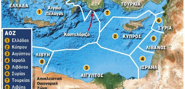 Η Τουρκία, η Λιβύη,  το Καστελόριζο και η ΑΟΖ