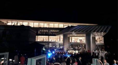 Μια νύχτα στο Μουσείο της Ακρόπολης/ Photostory