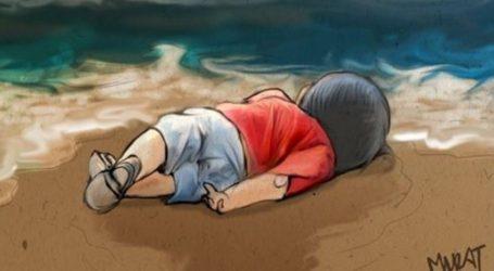 Μία «θάλασσα προσευχής» για τον Αϊλάν