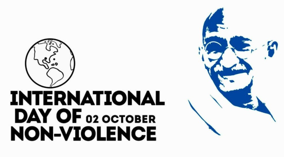 2 Οκτωβρίου- Διεθνής Ημέρα Μη Βίας