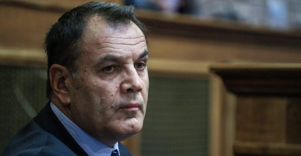 Ο Υπουργός Εθνικής Άμυνας κ. Παναγιωτόπουλος
