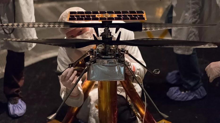 Ingenuity το όνομα ρομποτικού ελικοπτέρου που θα πετάξει στον Άρη το 2021