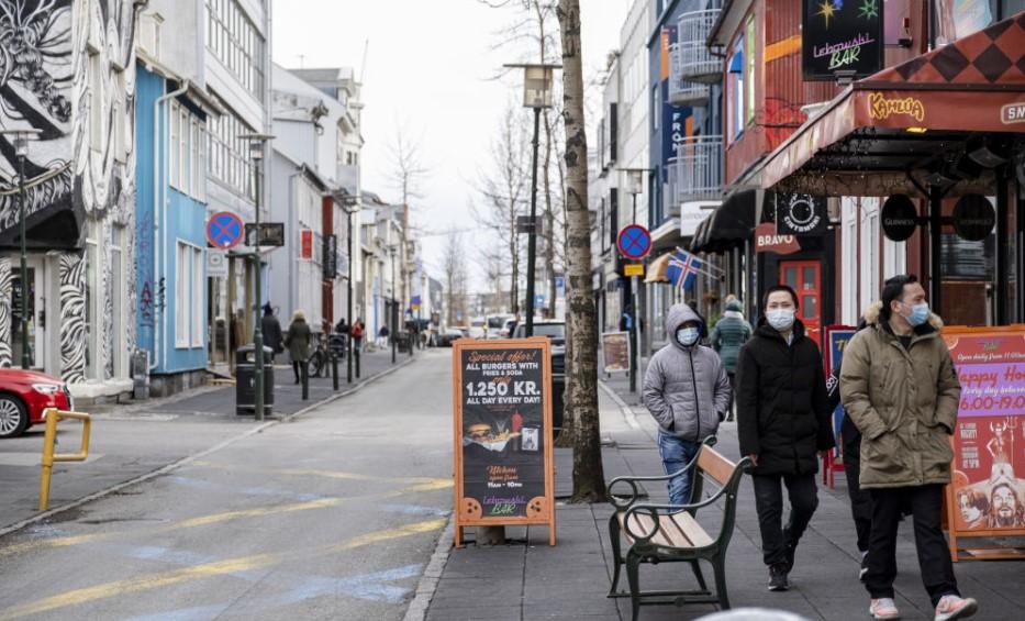 Ισλανδία: Μόλις πέντε νέα κρούσματα μέσα στον Μάιο